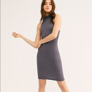 Free People - high neck bodycon dress